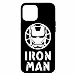 Чохол для iPhone 12 Pro Max Iron man text