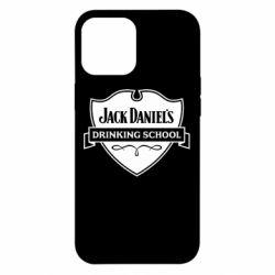 Чехол для iPhone 12 Pro Max Jack Daniel's Drinkin School