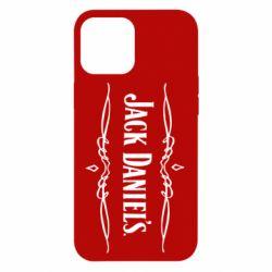 Чехол для iPhone 12 Pro Max Jack Daniel's Logo