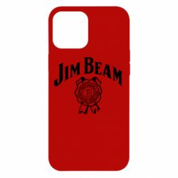 Чохол для iPhone 12 Pro Max Jim Beam logo