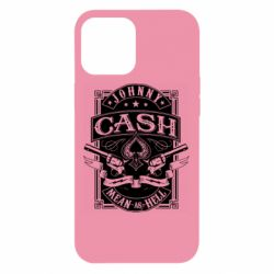 Чохол для iPhone 12 Pro Max Johnny cash mean as hell