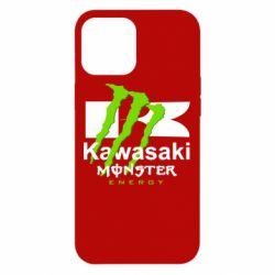 Чохол для iPhone 12 Pro Max Kawasaki Monster Energy