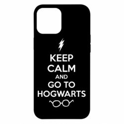 Чехол для iPhone 12 Pro Max KEEP CALM and GO TO HOGWARTS
