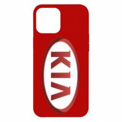 Чохол для iPhone 12 Pro Max KIA 3D Logo