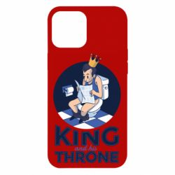 Чохол для iPhone 12 Pro Max King and his throne