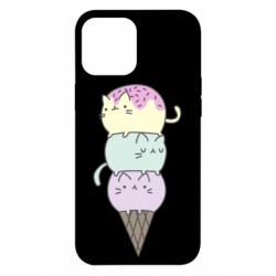 Чохол для iPhone 12 Pro Max Kittens for ice cream
