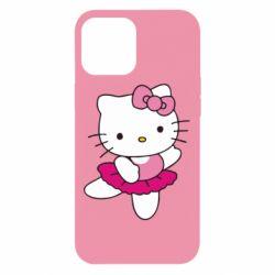 Чехол для iPhone 12 Pro Max Kitty балярина