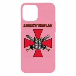 Чохол для iPhone 12 Pro Max Knights templar helmet and swords