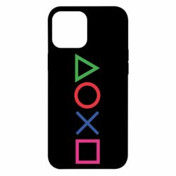 Чохол для iPhone 12 Pro Max Кнопки PlayStation