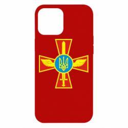 Чехол для iPhone 12 Pro Max Крест з мечем та гербом