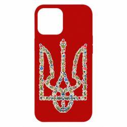 Чехол для iPhone 12 Pro Max Квітучий герб України