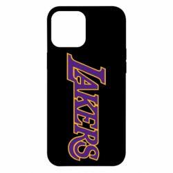 Чохол для iPhone 12 Pro Max LA Lakers