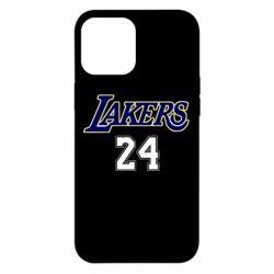 Чехол для iPhone 12 Pro Max Lakers 24