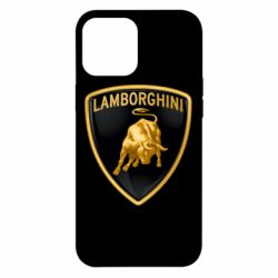 Чохол для iPhone 12 Pro Max Lamborghini Logo