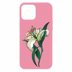Чохол для iPhone 12 Pro Max Lily flower