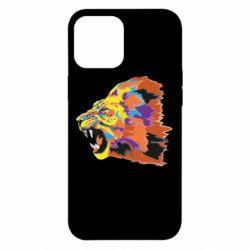 Чехол для iPhone 12 Pro Max Lion multicolor