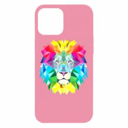Чехол для iPhone 12 Pro Max Lion vector