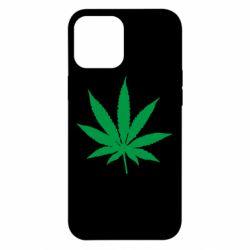 Чохол для iPhone 12 Pro Max Листочок марихуани