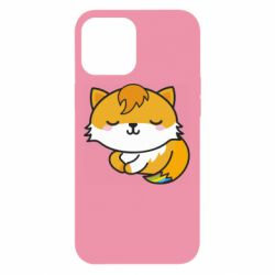Чехол для iPhone 12 Pro Max Little fox with tail