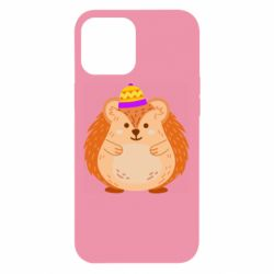 Чохол для iPhone 12 Pro Max Little hedgehog in a hat