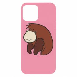 Чехол для iPhone 12 Pro Max Little monkey