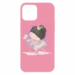 Чехол для iPhone 12 Pro Max Little princess and butterfly