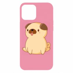 Чехол для iPhone 12 Pro Max Little pug