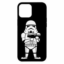 Чохол для iPhone 12 Pro Max Little Stormtrooper