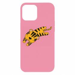 Чехол для iPhone 12 Pro Max Little striped tiger