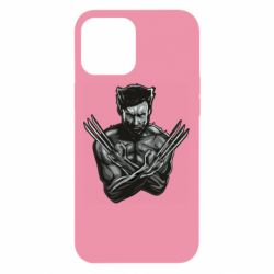 Чехол для iPhone 12 Pro Max Logan Wolverine vector