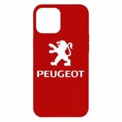 Чехол для iPhone 12 Pro Max Логотип Peugeot