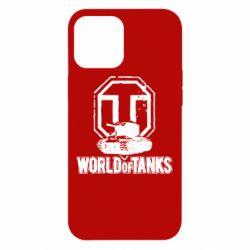 Чехол для iPhone 12 Pro Max Логотип World Of Tanks