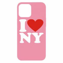 Чохол для iPhone 12 Pro Max Люблю Нью Йорк