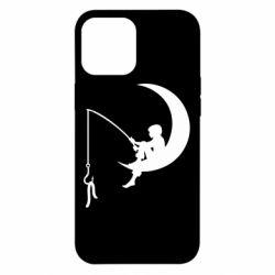 Чехол для iPhone 12 Pro Max Мальчик рыбачит