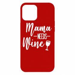 Чехол для iPhone 12 Pro Max Mama need wine