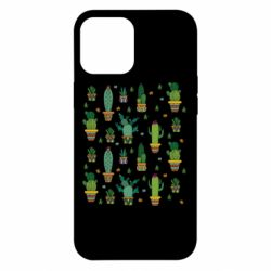 Чехол для iPhone 12 Pro Max Many cacti