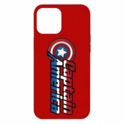 Чохол для iPhone 12 Pro Max Marvel Captain America