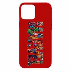Чехол для iPhone 12 Pro Max Marvel comics and heroes
