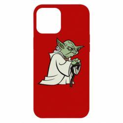 Чехол для iPhone 12 Pro Max Master Yoda