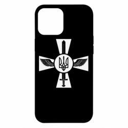 Чехол для iPhone 12 Pro Max Меч, крила та герб