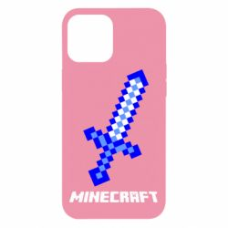 Чехол для iPhone 12 Pro Max Меч Minecraft