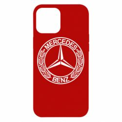 Чохол для iPhone 12 Pro Max Mercedes Логотип