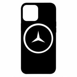 Чехол для iPhone 12 Pro Max Mercedes new logo