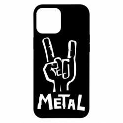 Чехол для iPhone 12 Pro Max Metal