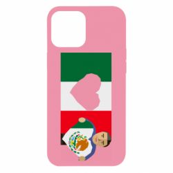Чехол для iPhone 12 Pro Max Mexican flag and president