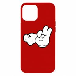 "Чехол для iPhone 12 Pro Max Mickey Mouse Hands ""Chop-chop"""