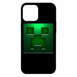 Чехол для iPhone 12 Pro Max Minecraft Face