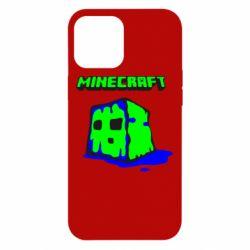 Чохол для iPhone 12 Pro Max Minecraft Head