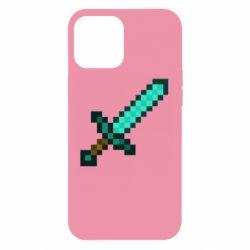 Чохол для iPhone 12 Pro Max Minecraft меч