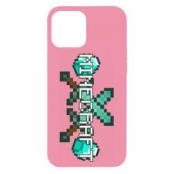 Чохол для iPhone 12 Pro Max Minecraft алмазний меч